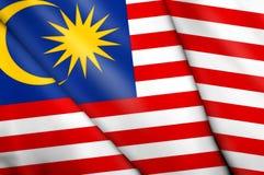 标志马来西亚 免版税图库摄影
