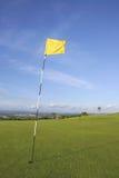 标志高尔夫球场 库存照片