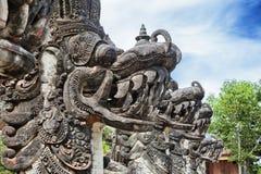 标志巴厘岛-传统印度龙 免版税库存图片