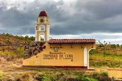标志-特立尼达,古巴 免版税库存照片