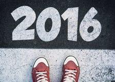 2016标志 免版税库存图片