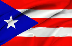 标志puerto rican的波多里哥 库存图片