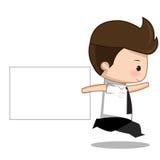 标签动画片 免版税库存照片