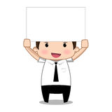 标签动画片 免版税图库摄影