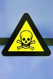 标签含毒物化学制品 免版税图库摄影
