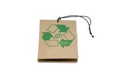 标签回收 免版税库存图片