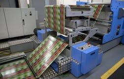 标签被抵销的新闻打印 免版税图库摄影