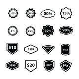 标签设计16项目 库存图片