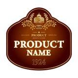 标签设计 免版税库存图片