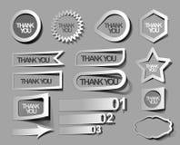 标签&贴纸设计 免版税库存图片