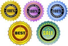 标签 免版税库存图片