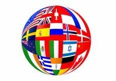标记世界 图库摄影