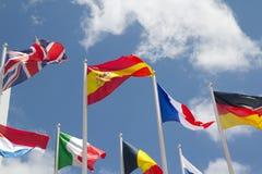 标记国际 免版税库存照片