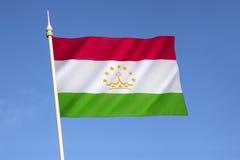 标记塔吉克斯坦 库存图片