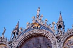标记安排圣徒威尼斯 免版税库存照片