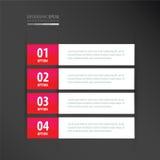 标记模板氖桃红色 免版税图库摄影