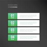 标记模板氖绿色 免版税库存图片