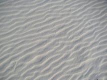 标记波纹沙子 免版税库存图片