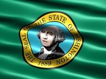 标记状态华盛顿 免版税图库摄影