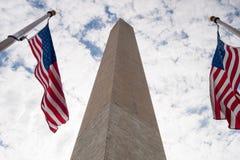 标记纪念碑华盛顿 图库摄影
