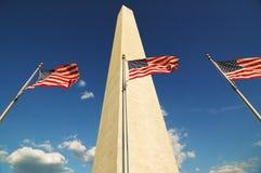 标记纪念碑华盛顿 免版税图库摄影
