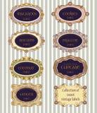 标记选择葡萄酒 免版税库存图片