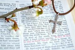 标记15:34基督受难日背景 免版税库存图片