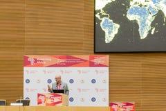 标记Surman,执行董事, Mozilla,交付主要sp 库存图片
