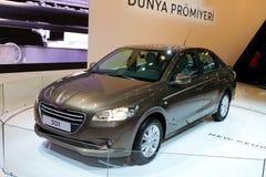 伊斯坦布尔车展2012年 库存照片