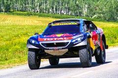 标致汽车2008 DKR 库存图片