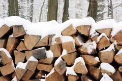 栈木头 免版税库存图片