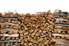 栈木柴 大堆熔炉的,背景木柴 库存图片