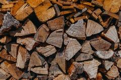 栈木头 库存照片