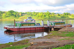 栈桥DP-11 Tutaev 俄国 免版税库存图片
