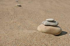 栈石头 库存图片