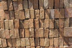 栈砖 免版税库存图片