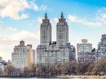 300栋中央公园西部公寓 图库摄影