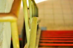栏杆和台阶 图库摄影