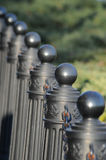 栏杆街道 免版税库存照片