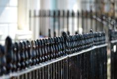 栏杆 免版税库存照片