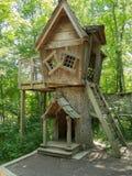 树上小屋 库存照片