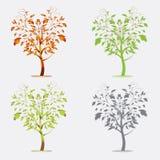 树传染媒介 免版税库存图片