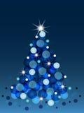 树圣诞节 图库摄影
