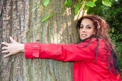 树妇女 库存照片
