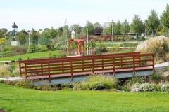 树木园在Frydek米斯泰克 免版税库存图片