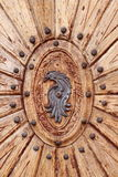 树木繁茂门的象征 库存照片