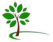 树标志 库存图片
