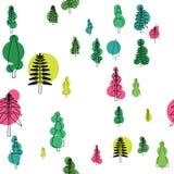树样式 免版税库存图片