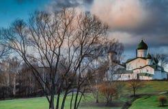 树的教会 图库摄影