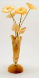 从树的花,琥珀色的颜色 免版税库存照片
